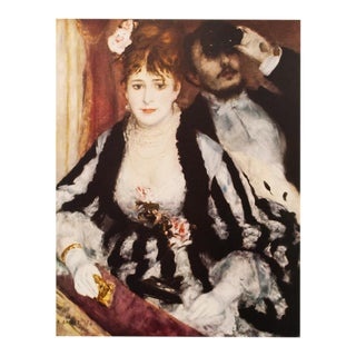 "1950s Auguste Renoir ""The Loge"" First Edition Photogravure For Sale"
