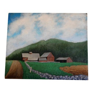 Farm Scene Oil Painting For Sale