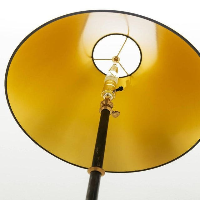 Jacques Adnet Style Star-Base Floor Lamp, France, 1950s - Image 4 of 7