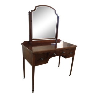 Vanity Made by Warings Furniture Makers for the Titanic For Sale
