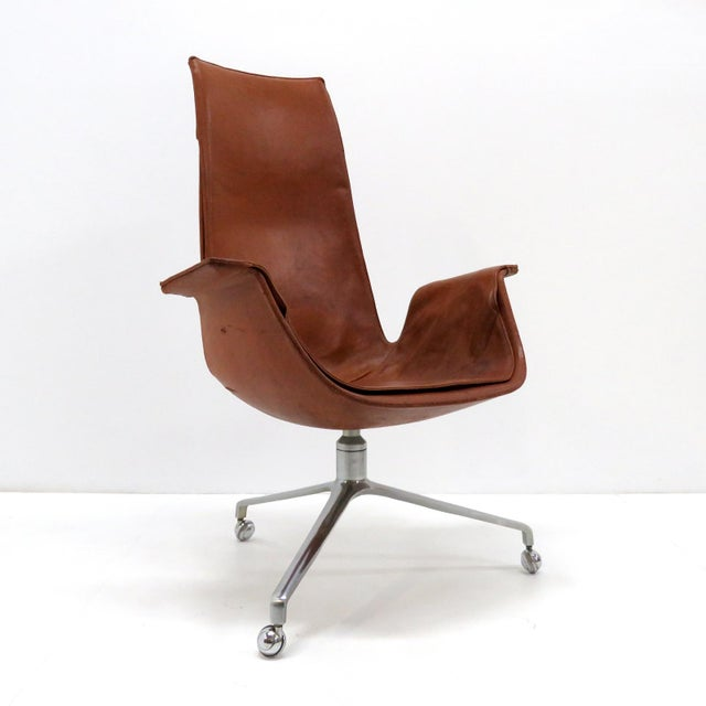 Mid-Century Modern 1960s Vintage Preben Fabricius Jorgen Kastholm Bird Chair For Sale - Image 3 of 12