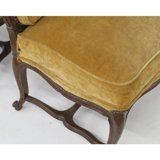 French Style Louis XVI Style Chairs - A Pair - Image 2 of 6
