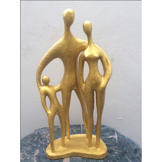 """""""Family"""", Mid-Century Sculpture by Austin Prod - Image 2 of 10"""