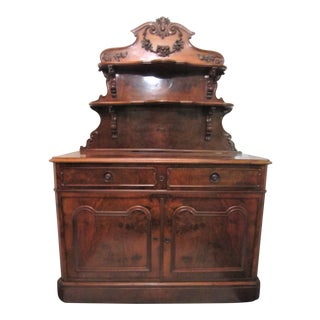 19th Century French Server / Dessert Cabinet For Sale
