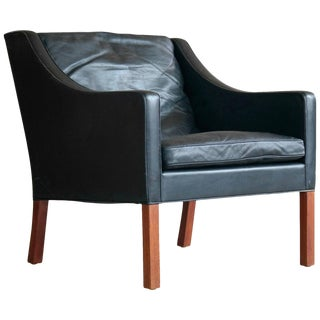 Borge Mogensen for Fredericia Model 2207 Lounge Chair For Sale
