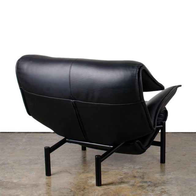 Metal 1980s Vintage Vico Magistretti Veranda Lounge Chair for Cassina For Sale - Image 7 of 12