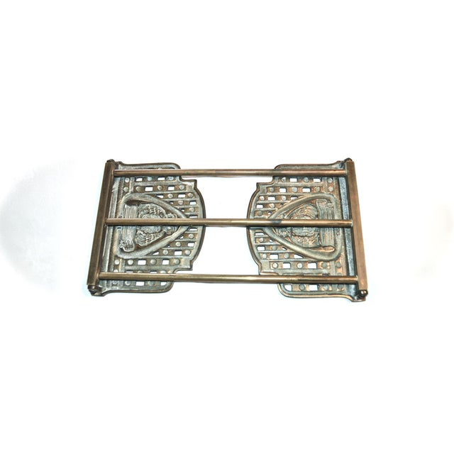 Judd Art Nouveau Wise Owl Book Rack 1920s For Sale - Image 10 of 11