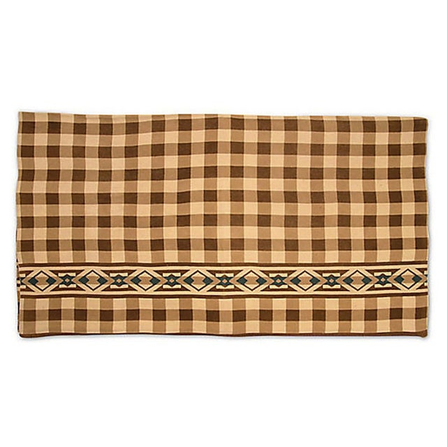 Checkered Camp Blanket - Image 3 of 6