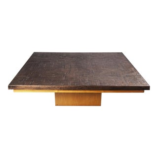 Brutalist coffe table
