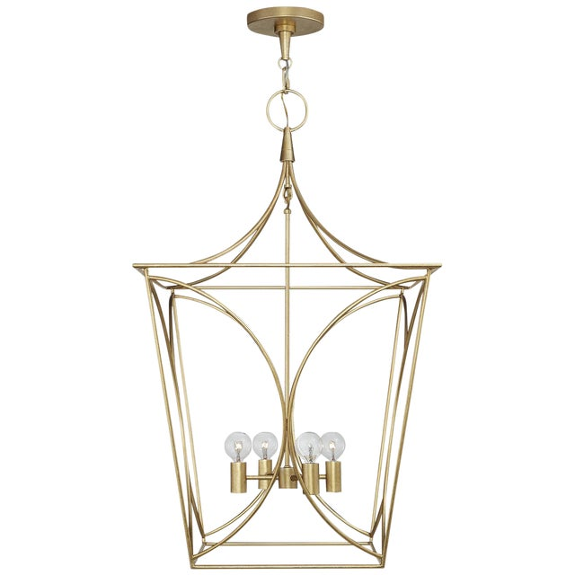 Cavanagh Medium Lantern, Kate Spade for Visual Comfort For Sale