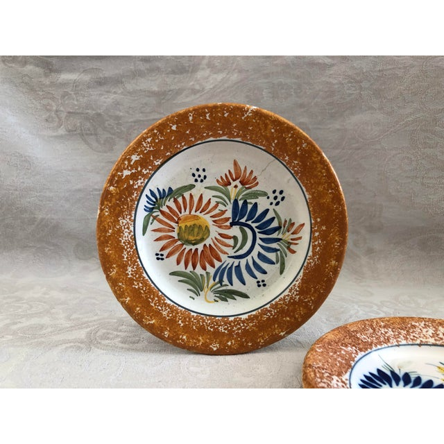 French Henriot Quimper Decorative Plates - Set of 2 For Sale - Image 3 of 12
