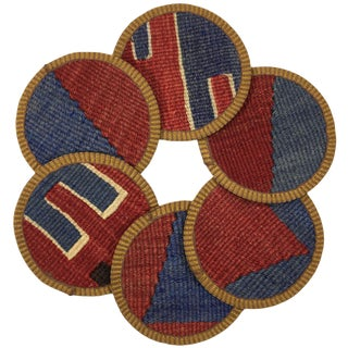 Kilim Coasters Set of 6 | Kolancılar For Sale