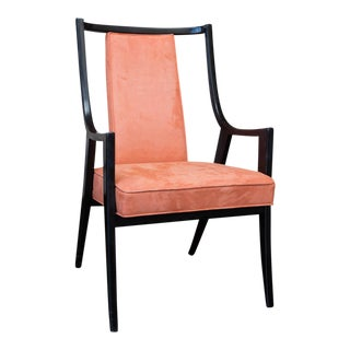 Harvey Probber Saber Leg Armchair For Sale