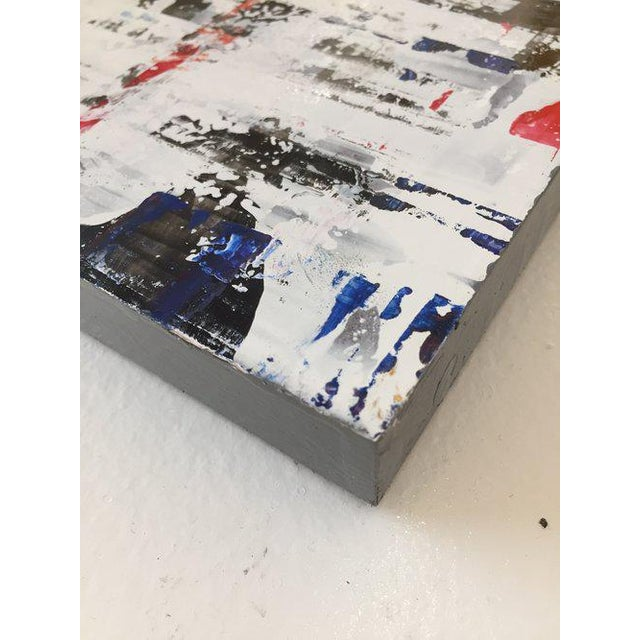 Ned Martin Ned Martin, East River (Horizontal Diptych) Painting, 2018 For Sale - Image 4 of 10