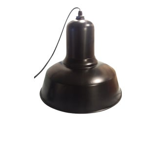 Extra Large Aluminum Bell Pendant For Sale