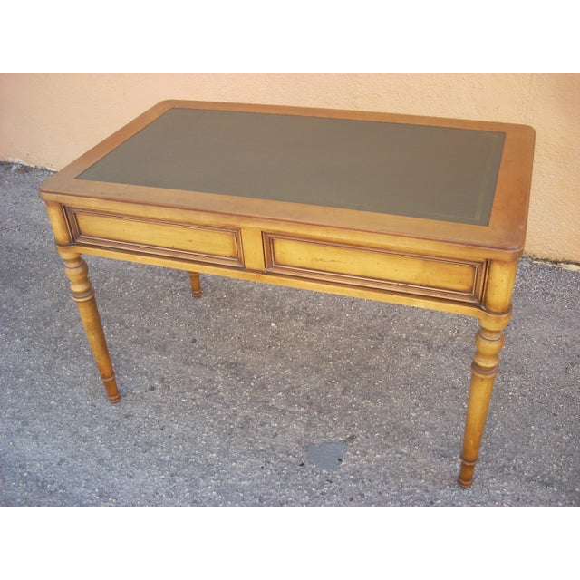 French Country Grange Ladies Writing Desk For Sale - Image 3 of 7