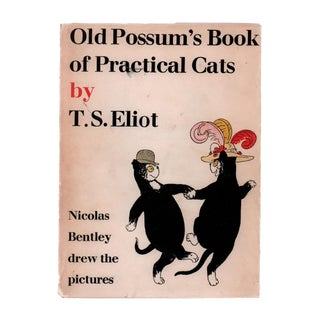 "1957 ""Old Possum's Book of Practical Cats"" Collectible Book For Sale"