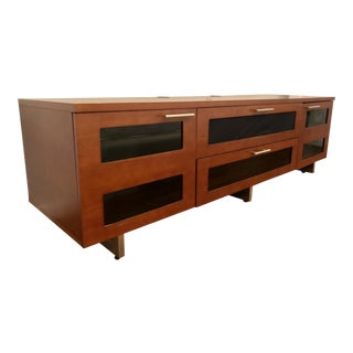 Wooden Media Console For Sale