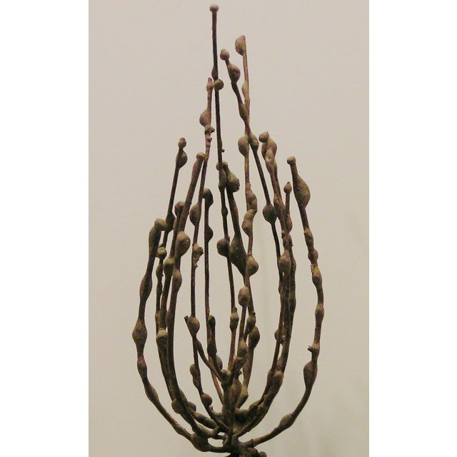 Mid 20th Century Original Abstract Modernist Metal Sculpture For Sale - Image 5 of 6