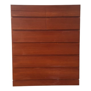 1950s Vintage Arne Wahl Iversen for Vinde Mobelfabrik Teak Dresser For Sale