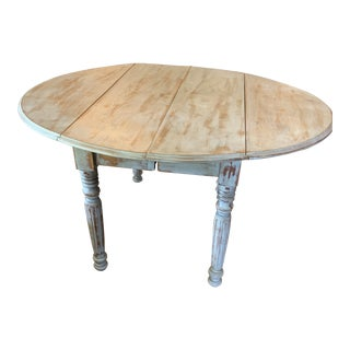 Antique French Drop Leaf Table For Sale