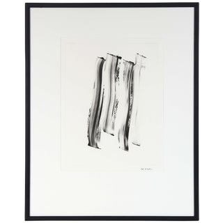 Abstract Monotype Black & White, Circa 2000s For Sale