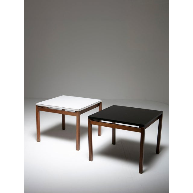 Set of Two Side Tables by Florence Knoll for Knoll For Sale - Image 6 of 6