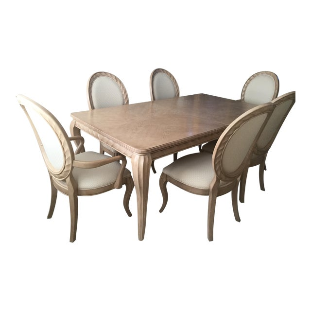 Mediterranean Style Dining Room Sets: Bernhardt Tuscan Traditional Mediterranean Dining Room Set