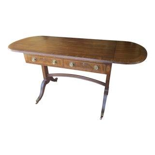 Henredon Vintage Drop Leaf Desk For Sale