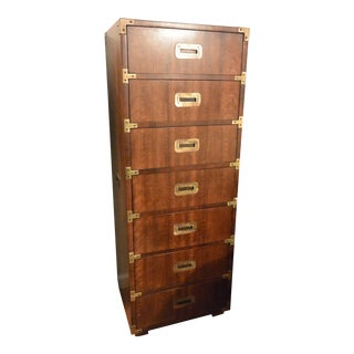 Campaign Style Captain's Chest Collection Lingerie Chest