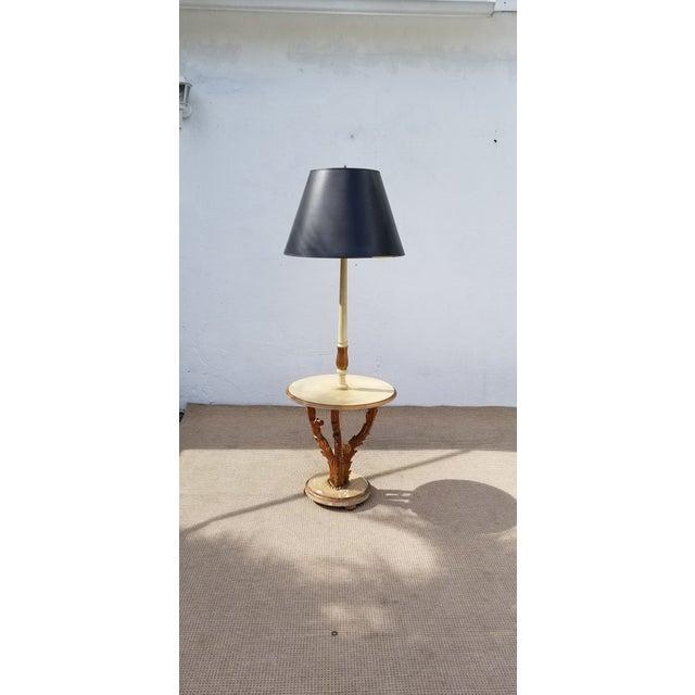 1950s Italian Neoclassical Venetian Style Table Floor Lamp For Sale - Image 11 of 12