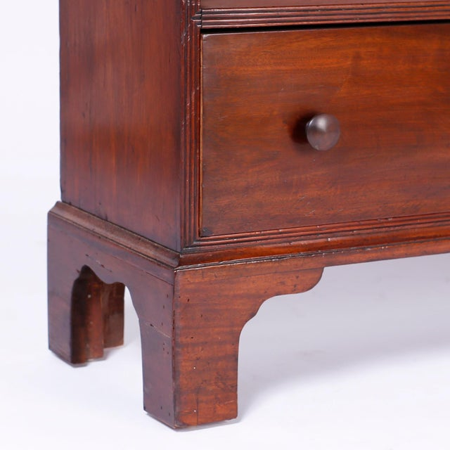 English Step Down Bookcase For Sale - Image 9 of 10