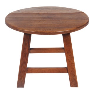 1950s Bavarian-Style Round Coffee Table