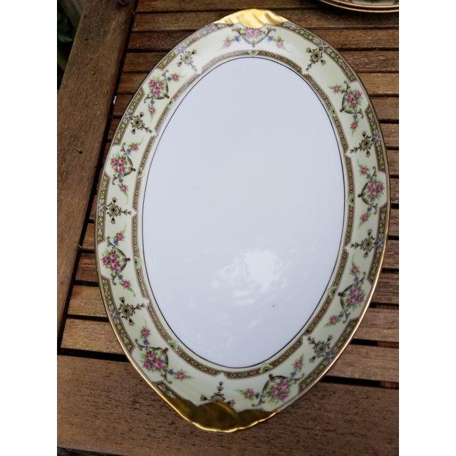 Limoges, France Large Limoges Serving Platter For Sale - Image 4 of 5