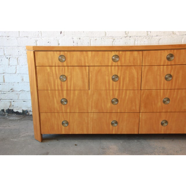 Charles Pfister for Baker Primavera Ten-Drawer Long Dresser For Sale - Image 5 of 11