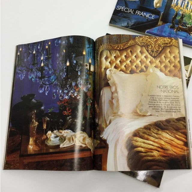 Color Photography French Interior Decorating Magazines - Set of 5 For Sale - Image 7 of 13