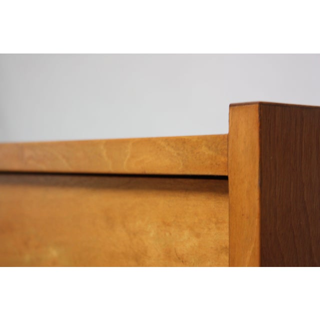 Edmond J. Spence Sideboard in Maple and Brass For Sale In New York - Image 6 of 11