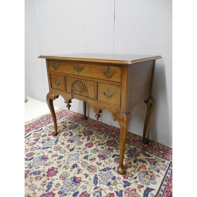 Features Quality Solid Construction, Solid Mahogany, Dovetailed Drawers with Brass Hardware, Fine Detailed Reproduction of...