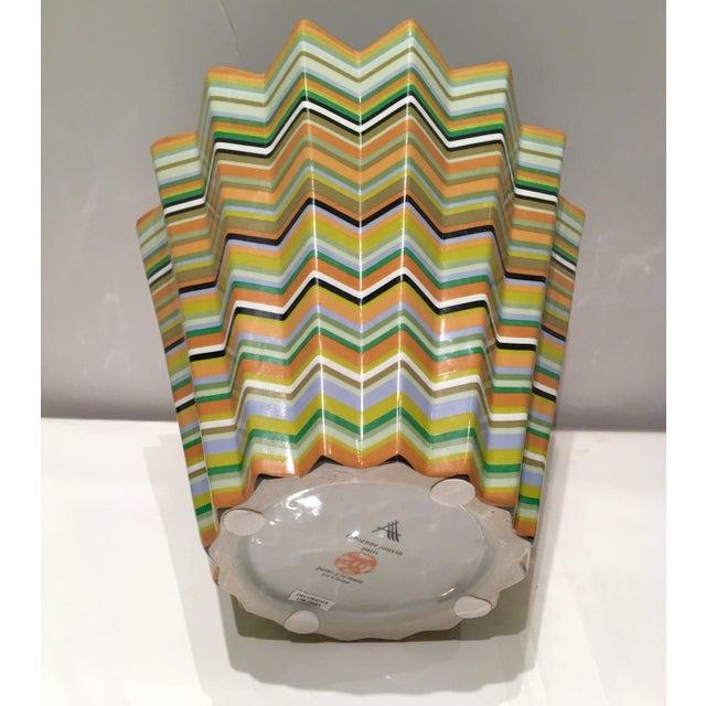 Fabienne Jouvin Paris Chevron Decorative Bowl - Image 4 of 6