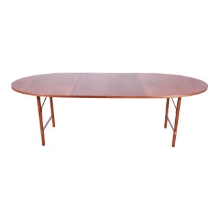 Paul McCobb for Calvin Mid-Century Modern Walnut Extension Dining Table For Sale
