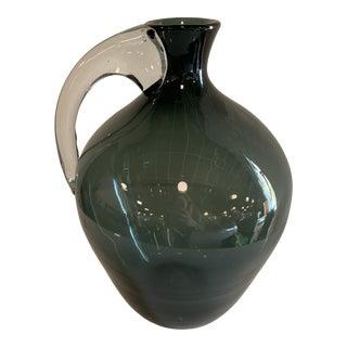 1960s Vintage Blenko Glass Pitcher For Sale