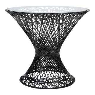 Spun Fiberglass Patio Bistro Table by Woodard Furniture