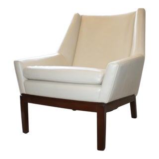A. Rudin Leather Chair For Sale