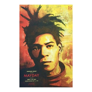 Vintage Shepard Fairey Basquiat Poster For Sale