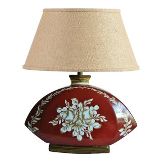 Large French 1940s Table Lamp