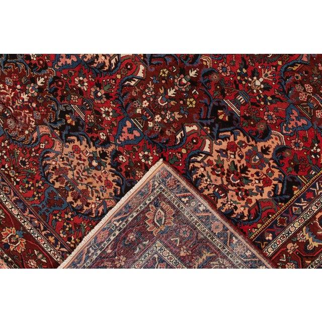 "Arts & Crafts Apadana - Antique Bakhtiari Rug, 10'6"" X 13'5"" For Sale - Image 3 of 10"