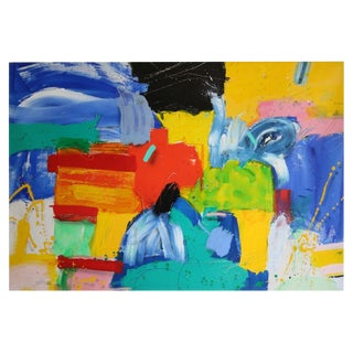 Acrylic on Canvas by Thomas Gathman #3 For Sale