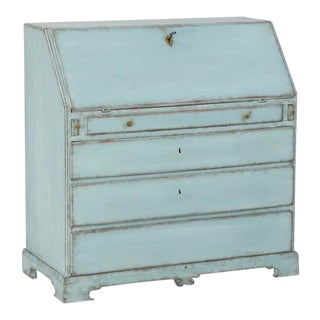Turquoise Empire Writing Bureau For Sale