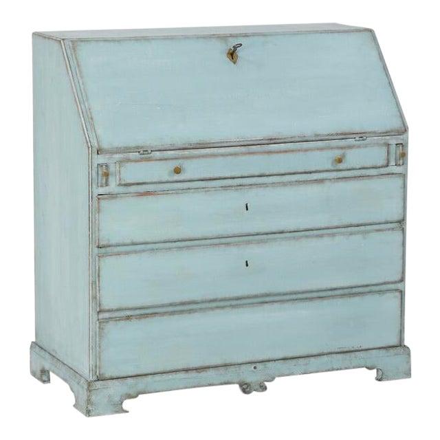 Turquoise Empire Writing Bureau For Sale