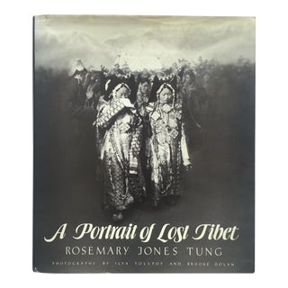 """A Portrait of Lost Tibet"" Cultural History Vintage 1980 1st Edtn Photography Book For Sale"